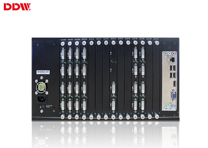 Commercial lcd Video Wall controller advanced pure hardware structure display controller up to 1920*1200/60HZ