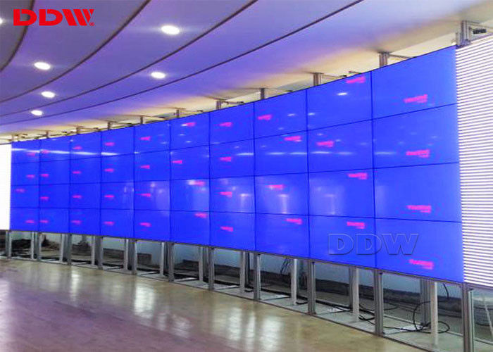 Video wall curved samsung thin bezel video wall 700cd sqm Luminance flexible display